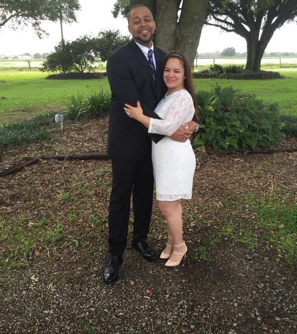 Congratulations Cristina Figueroa and Richard Brown