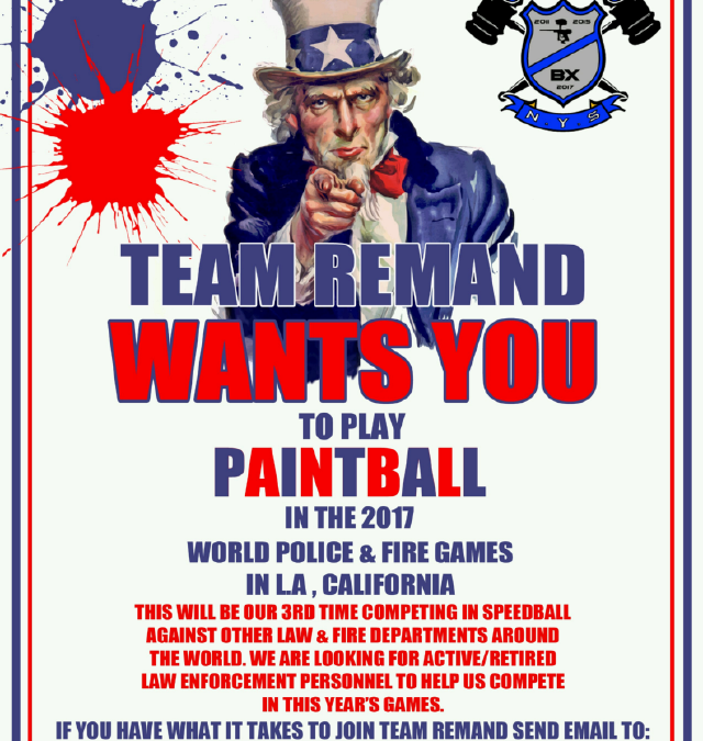 Team Remand Wants You to Play Paintball