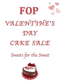 FOP Valentine's Day Cake Sale
